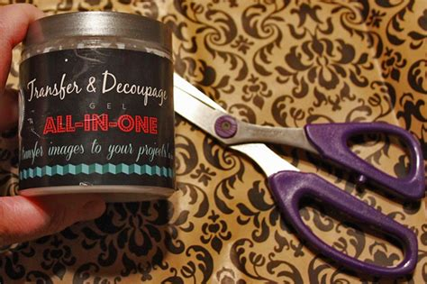 Decoupage Spray - diy distressed decoupage spray wax the graphics