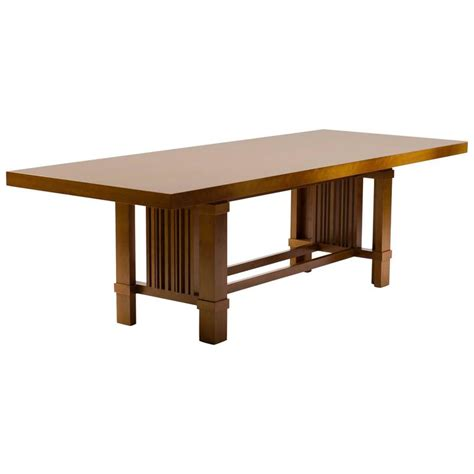 Cassina Dining Table Cassina Taliesin Dining Table Designed By Frank Lloyd Wright At 1stdibs