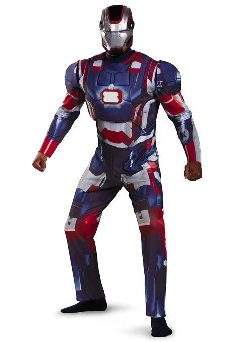 adult deluxe iron patriot costume