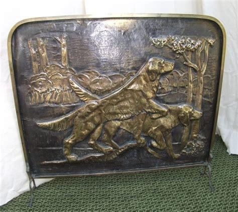 Vintage Brass Fireplace Screen by Antiques Atlas Antique Brass Firescreen