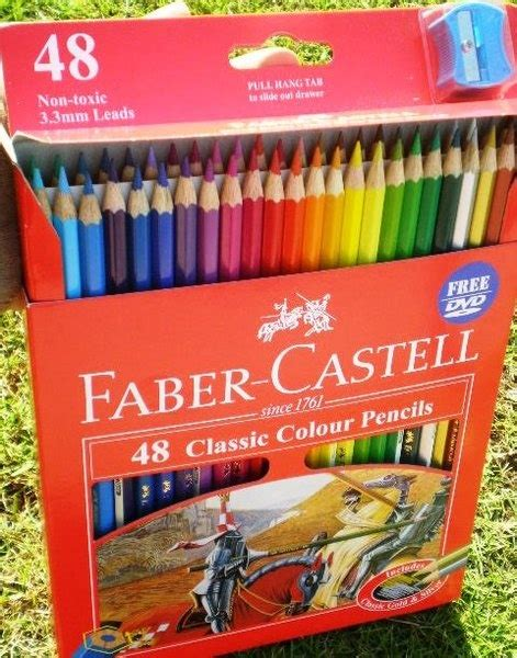 Pensil Warna Faber Castell 48 Classic Colour faber castell 48 classic colour pencils colored pencil my favorite one is polychromos