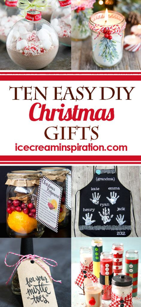 easy inexpensive gifts to make 10 easy diy gifts and inspiration