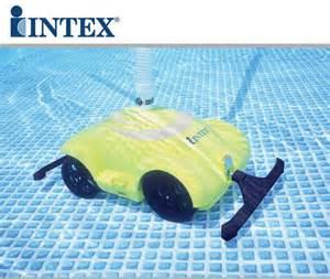 robottino piscina robot robottino automatico intex per la pulizia della