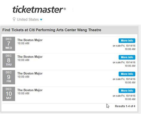 Ticketmaster Box Office Locations by Prepare For A Fight As Boston Major Tickets Go On Sale