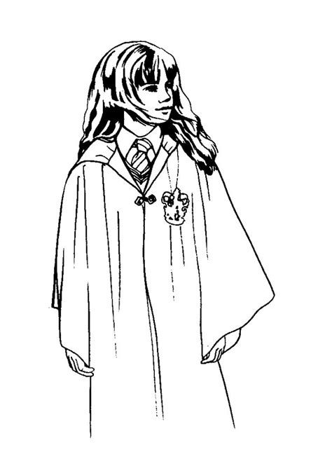 harry potter coloring pages hermione hermione granger harry potter 1 999 coloring pages