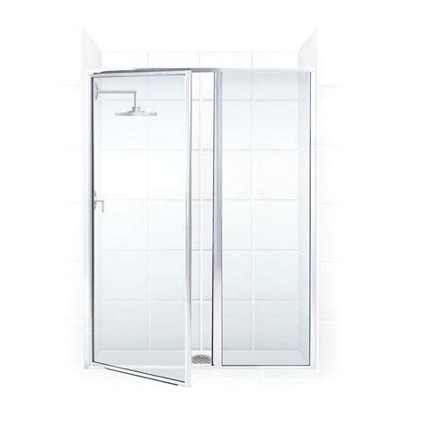 Swing Shower Door Coastal Shower Doors Legend Series 48 In X 66 In Framed Hinged Swing Shower Door With Inline