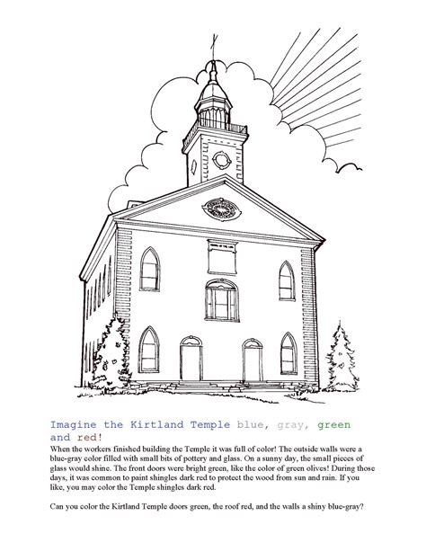 temple coloring page coloring home