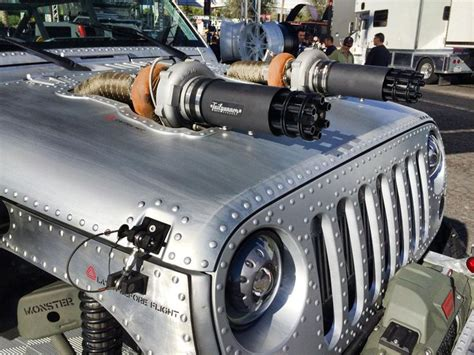 Cool Jeep Tj Mods Jeep At Sema 2014 With A Brushed Aluminum Finish And