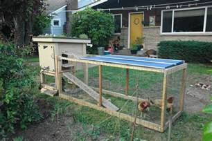 Backyard Chickens File Backyard Chicken Coop With Green Roof Jpg Wikimedia