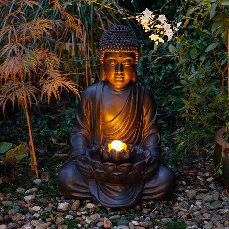 Gartenbrunnen Buddha