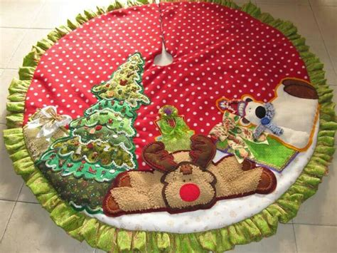 pie de arbol navidad pinterest pies tree skirts and