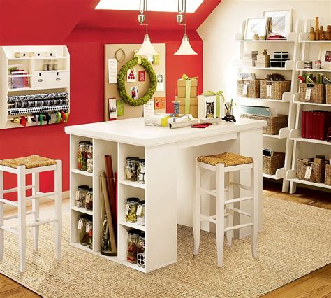 craft room storage and design tips for a craft room