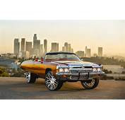 Tygas Chevy Impala On 28 Forgiatos  Big Rims Custom Wheels