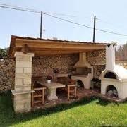 angolo barbecue in giardino costruire un barbecue professionale in muratura