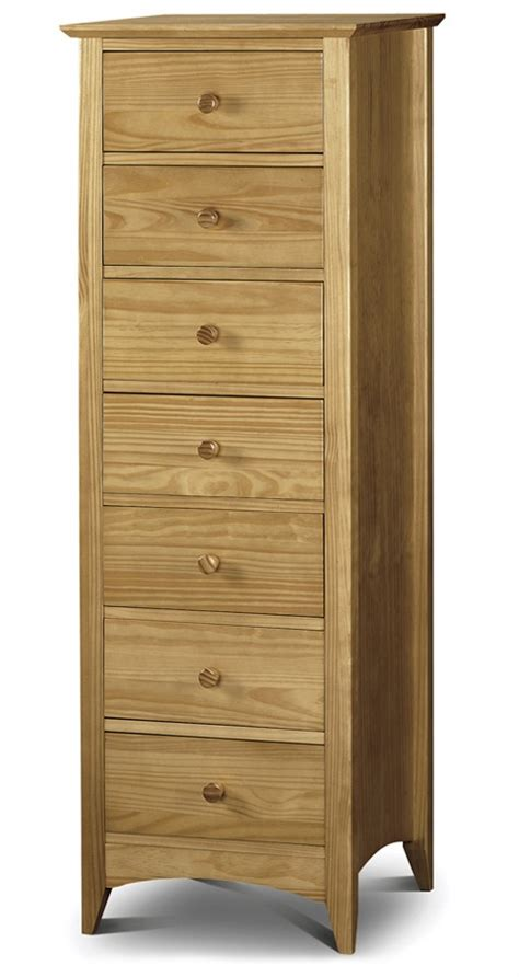 tall narrow dresser uk traditional solid pine tall narrow chest of 7 drawers