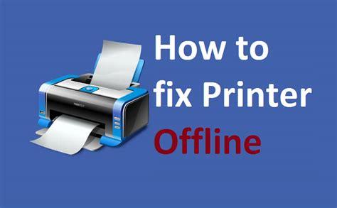 why is my printer offline printer offline windows 10 8 fix howtosolveit youtube