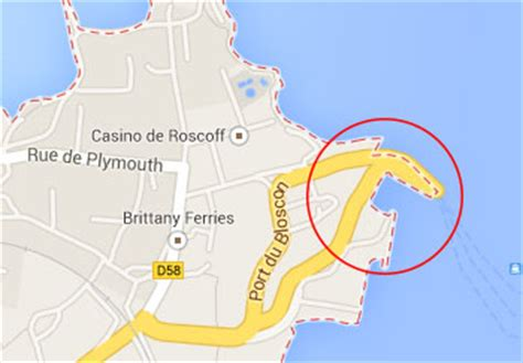 Car Hire Roscoff Ferry Port by Roscoff Port Driving In Europe Eurobreakdown