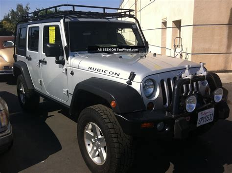 silver jeep rubicon 2008 jeep wrangler unlimited rubicon silver