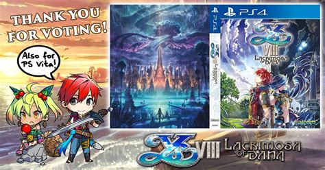 Kaset Ps4 Ys Viii Lacrimosa Of Day One Edition new trailer and day one edition revealed for ys viii lacrimosa of niche gamer