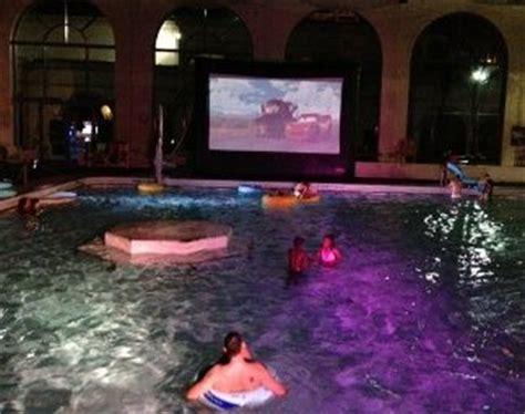 film semi pool dive in movie hosting a movie night at a backyard with