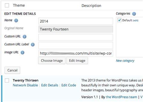 theme editor wordpress multisite new plugin release multisite theme manager by wpmu dev