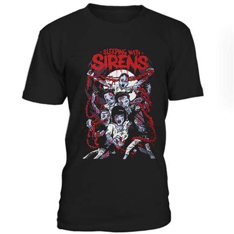 Tshirt Kaos Sleeping With Sirens sleeping with sirens tshirt