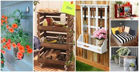 imagenes de jardines con objetos reciclados 15 proyectos diy para decorar el jard 237 n con objetos