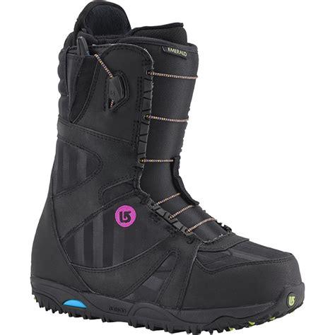 womans snowboarding boots burton emerald snowboard boots s 2016 evo