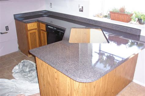 kitchen laminate countertop refinished with quot granite