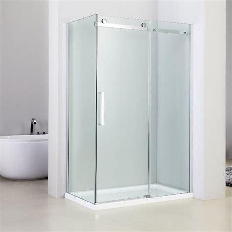 box doccia angolari box doccia angolare 70x140 con anta scorrevole vetro
