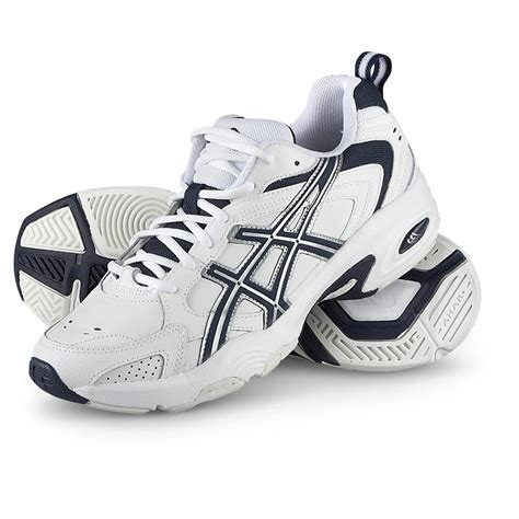 s asics 174 gel trx 174 trainer athletic shoes white navy
