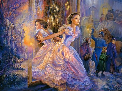 free cinderella painting josephine wall paintings writer and illustrator
