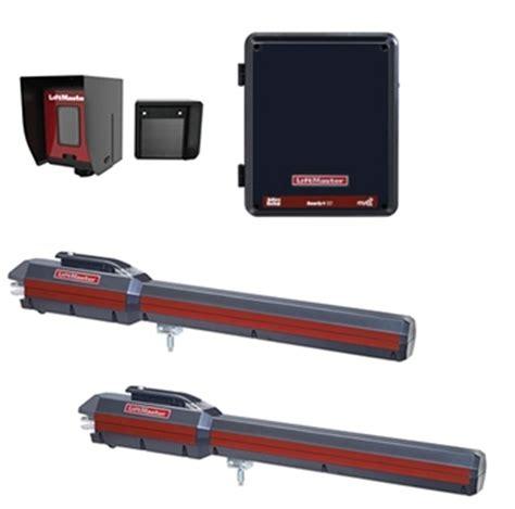 liftmaster dual swing gate opener liftmaster la500 dual swing gate opener for residential or