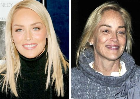 sharon stone breaking news and opinion on the huffington celebs who aged horribly then vs now page 18 of 39