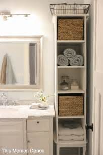 Bathroom Linen Storage Ideas by 25 Best Bathroom Storage Ideas On Bathroom