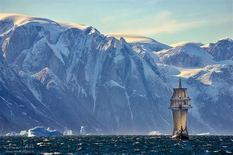 green land 2016 east greenland scoresbysundfjord sailboat