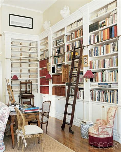 home office design books library w ladder libraries with rolling ladders pinterest