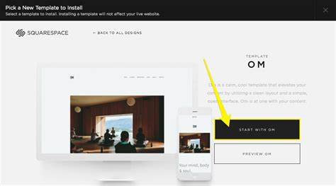 Switching Templates Faq Squarespace Help Squarespace Website Templates