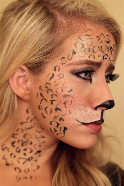 leopard makeup tutorial leopard makeup tutorial
