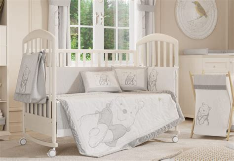 white nursery bedding sets winnie the pooh nursery set uk thenurseries