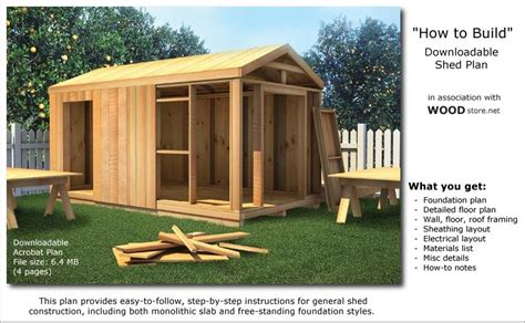 Easy To Build Storage Shed by Zekaria Easy Build Shed Plans Must See