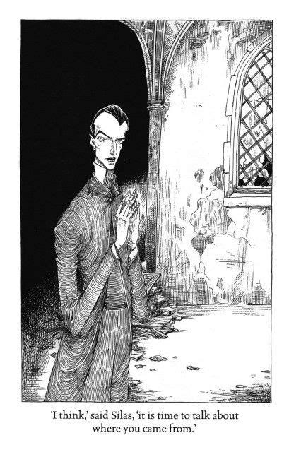 jeannygrey: The Graveyard Book by Neil Gaiman, illustrated