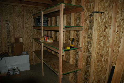 Shelving Shed by How To Build Garden Shed Shelves