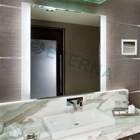sliding bathroom mirror customized design illuminated sliding bathroom mirror