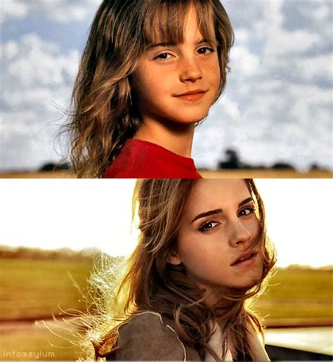 emma watson now and then emma watson then and now puberty done right people