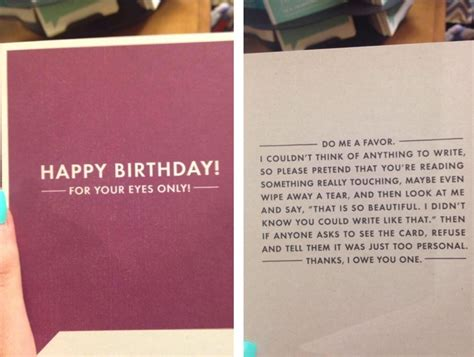 Best Birthday Cards This Is The Perfect Birthday Card If You Have No Idea What