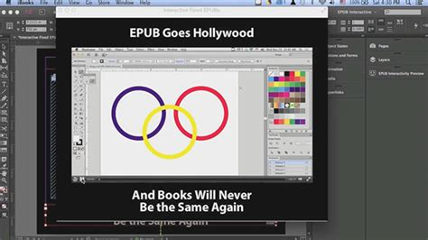 tutorial indesign animation constructing interactive epubs in adobe indesign layers