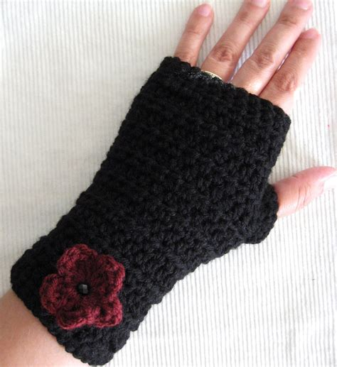 free pattern for crochet fingerless gloves fingerless gloves crochet pattern ebooks arts and crafts