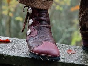 Handmade Leather Moccasin Boots - elven buffalo moccasin s leather boots by