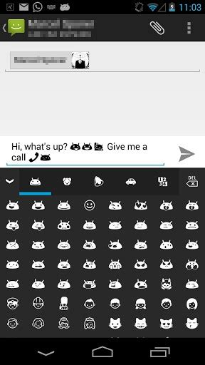 emoji keyboard android android emoji keyboard for android appszoom